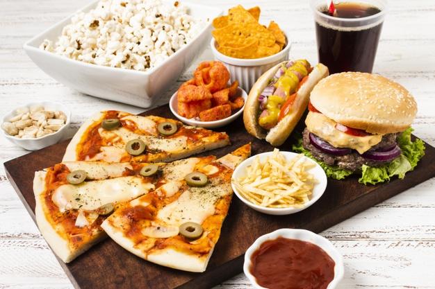Makanan Sihat vs Makanan Tidak Sihat